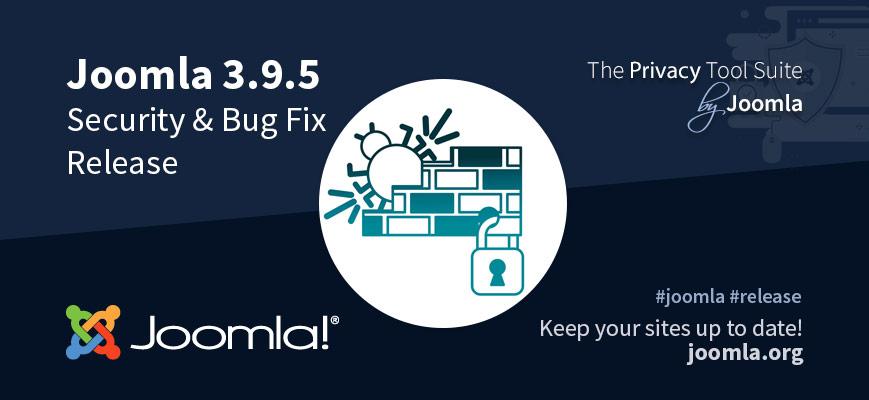 Критическое обновление безопасности Joomla 3.9.5