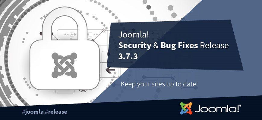 Новая версия Joomla 3.7.3