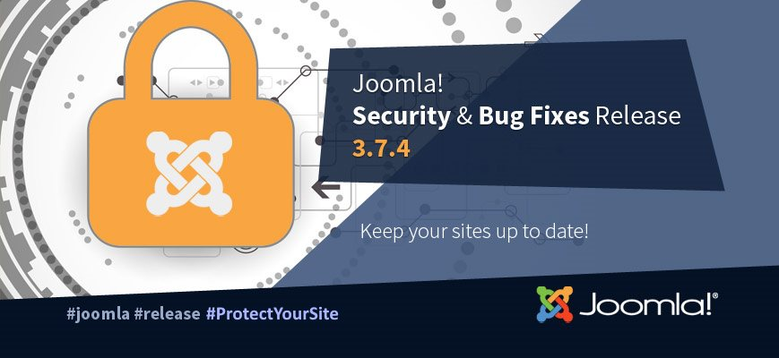 Обновление безопасности Joomla 3.7.4 / 3.7.5