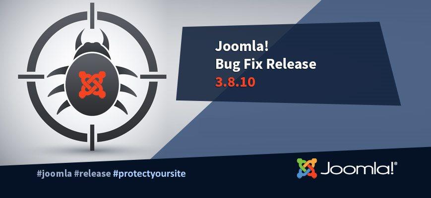 Обновление функциональности и безопасности Joomla 3.8.10