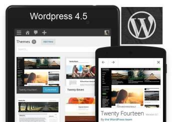 Финальная версия Wordpress 4.5 доступна для скачивания